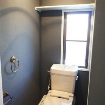 トイレは窓付き!※写真は前回募集時のものです