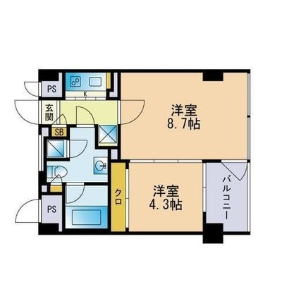 THE APARTMENTの間取り