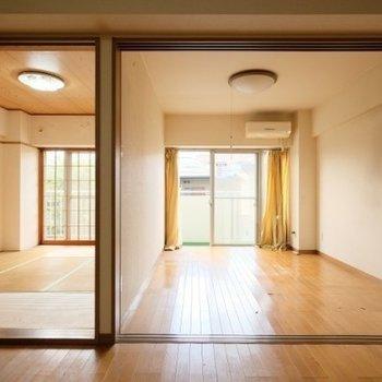 【工事前】これだけ広いお部屋なのです!