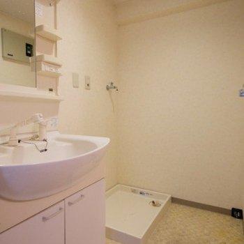 【工事前】洗面台は造作洗面台に!