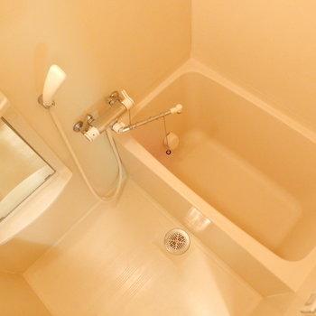 お風呂は充分な広さ◎
