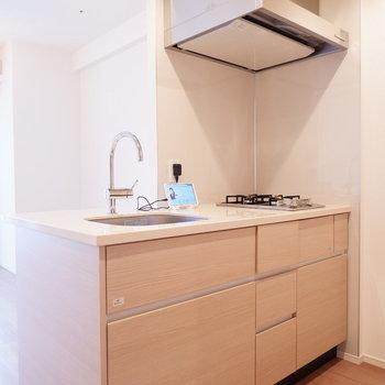 キッチン収納たっぷりですね♪※写真は12階の同じ間取りの別部屋です。