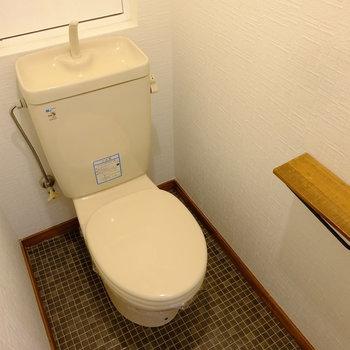トイレはレトロです