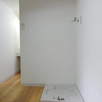 洗濯機置場もちゃんと※写真は前回掲載時のものです。