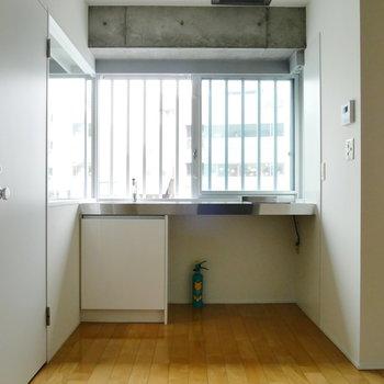 キッチンのスペースもゆとりあります。