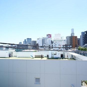 眺望は抜けてますね♪※同じ4階別部屋からの眺望の写真です