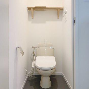トイレはウォシュレットがついてます