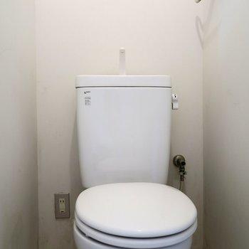トイレはいたってシンプル!