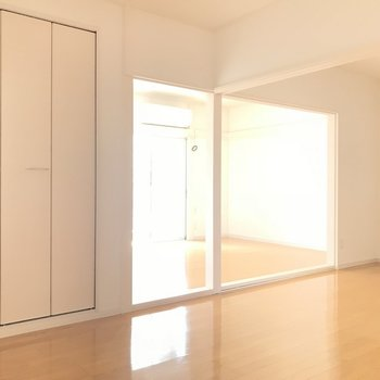開放的な2つのルーム※写真は前回募集時のものです
