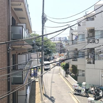 眺望は高田馬場の街並み