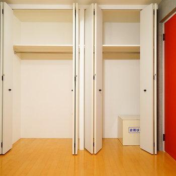 収納も大容量です!  ※写真は4階の同間取りのお部屋です。