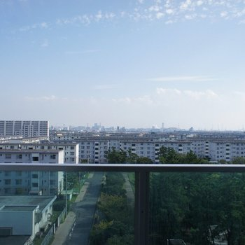 すごい眺めだ!!※7階別部屋同間取りの写真です。