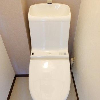可愛いカタチのトイレ