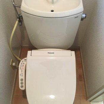 【工事前】お手洗いも綺麗!
