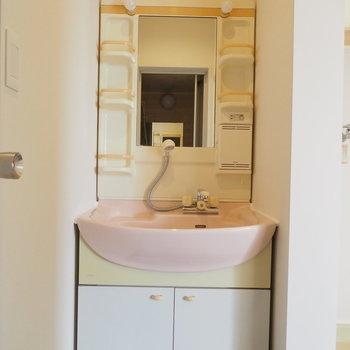 独立洗面台は機能的!