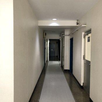1階廊下、すっきり