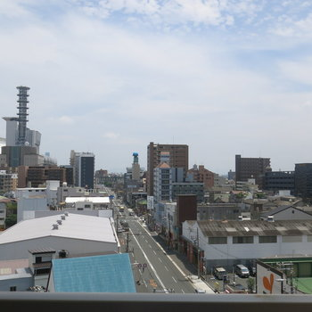 京セラドームも見えます〜!
