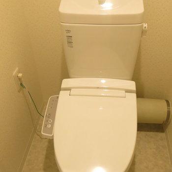 トイレも交換されて気持いい!