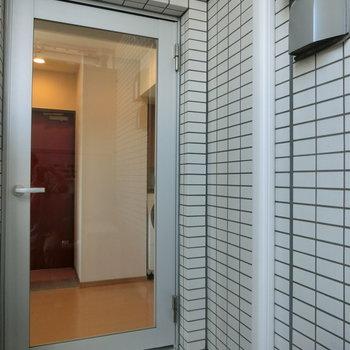 出るとこんな感じ。 ※12階同間取り別部屋の写真です
