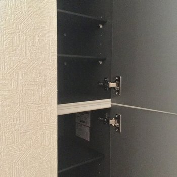 シューズボックスは上下2段になってます!※4階別部屋反転間取りの写真です。