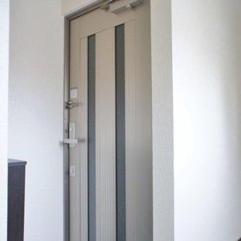 玄関はこんな感じ♪