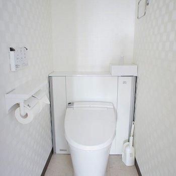 トイレも清潔感◎ウォシュレット付