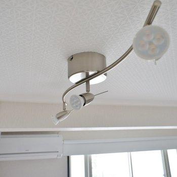 ライトもがお洒落にお部屋を照らします