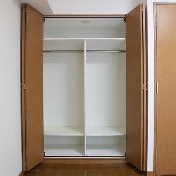 【下階】ドカーンと大容量でした!荷物や洋服の多い方も安心。