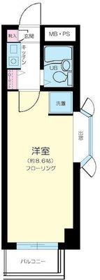 メゾン新高円寺 の間取り