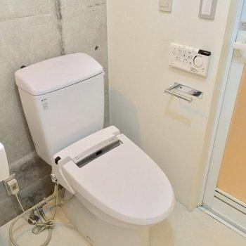 トイレも同じスペースにあります。※写真は前回募集時のものです