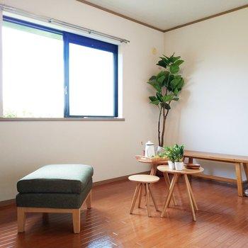 【洋室1】6帖の居室も2部屋ずつ。子供部屋や、書斎にどうぞ!