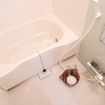 お風呂も浸かれる大きさです!