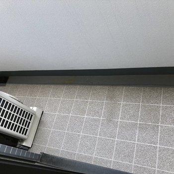 充分な広さのベランダ。※7階同間取り別部屋の写真です
