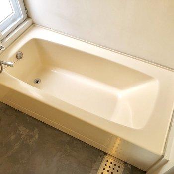 入浴タイムはゆったりできそうです。※前回募集時の写真