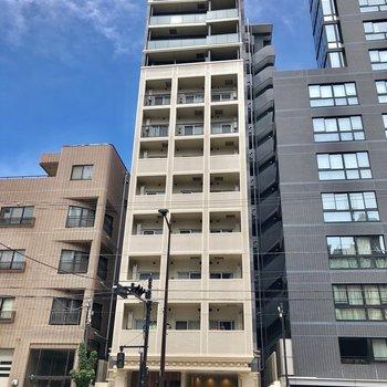 2017年12月に完成したマンションです。