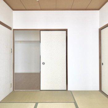 和室。畳も温かみがあってなかなかいいですよ。