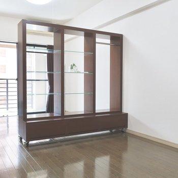 間仕切り代わりの家具で空間を上手に使いこなそう♪