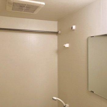 浴室へ。乾燥機付きですよ。