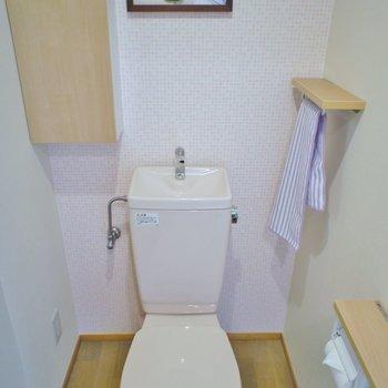 トイレ収納もあります