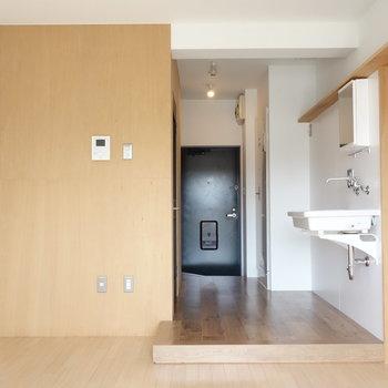 コンパクトなお部屋です。