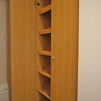シューズボックスはこちら。※写真は102号室のもの