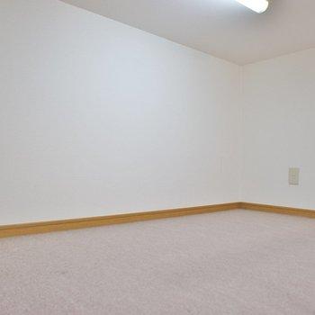 まずまずの広さ。※写真は102号室のもの