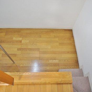 ロフト下のスペース。※写真は102号室のもの