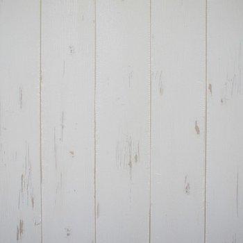 リビングの壁がかわいい