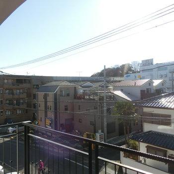 眺望。日当たりすばらしい!※写真は同じ間取りの別部屋です