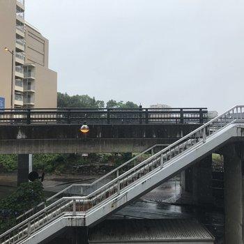 眺望は別府橋!