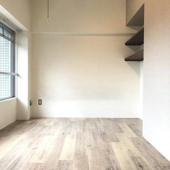 床の色合いが素敵!※写真はクリーニング前です。