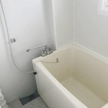 浴室は普通のサイズかな〜。