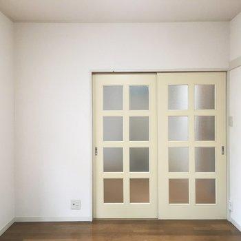 シンプルなお部屋でした。