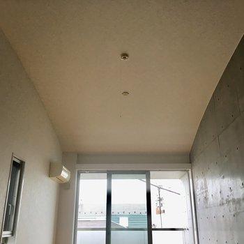 天井のカーブがスペクタクル!